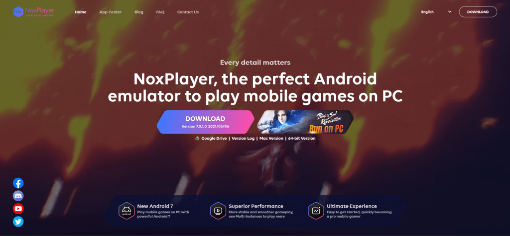 NoxPlayer app for pc