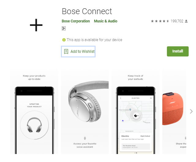Bose Connect App For Pc Windows 10/8/7/Mac Free Download