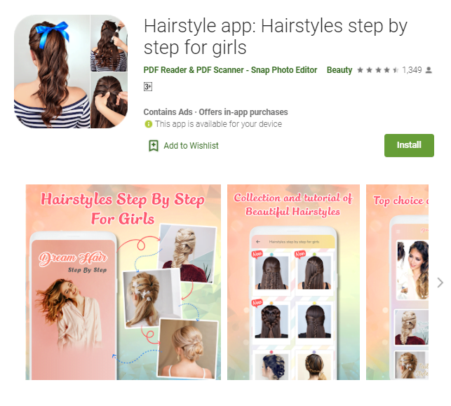 Hairstyle App For Pc Windows 10/8/7/Mac