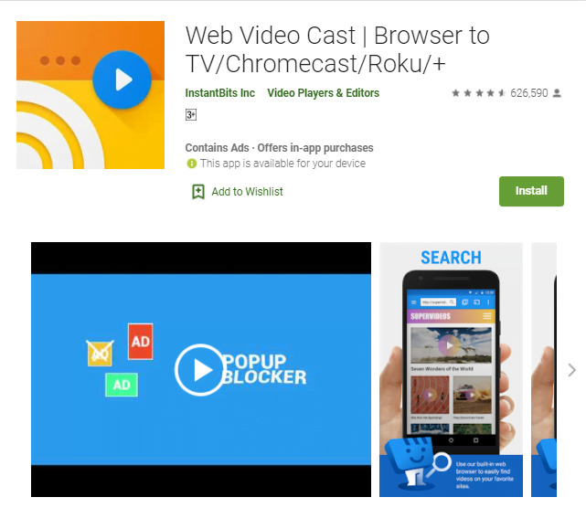 WebVideo Caster App For Pc Windows 10/8/7/Mac