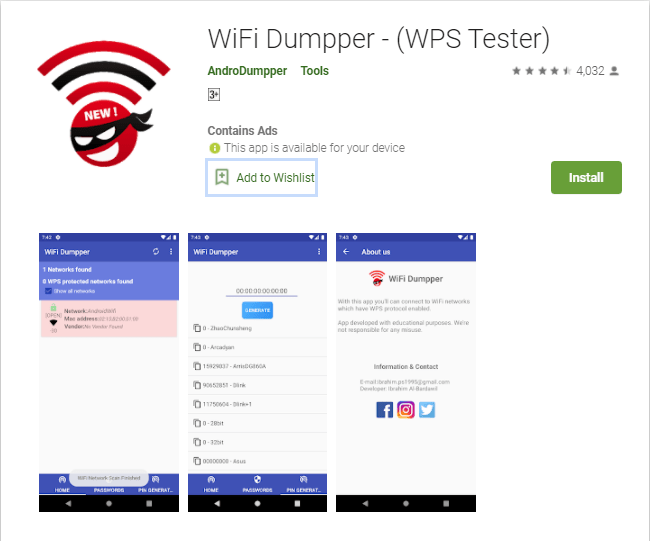 Download Androdumpper For Pc Windows 10/7/8/Mac