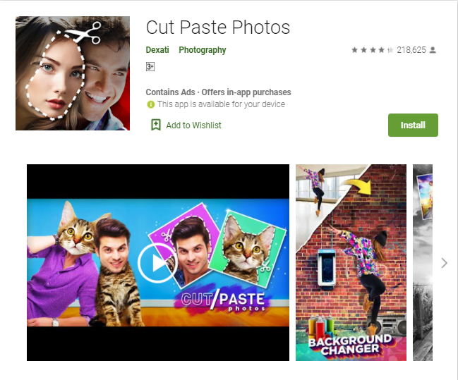 Photo Cut & Paste Software Free Download For Windows 10/7/8/Mac Pc