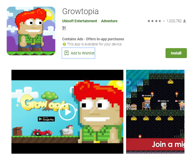 Growtopia Download For Windows 10/7/8/Mac Pc