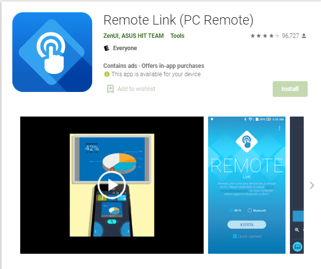 Remotelink Asus App For Pc Download Windows 10/7/8/Mac