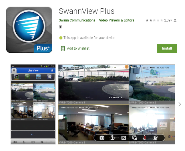 Swannview Plus App Download For Pc Windows 10/7/8/Mac